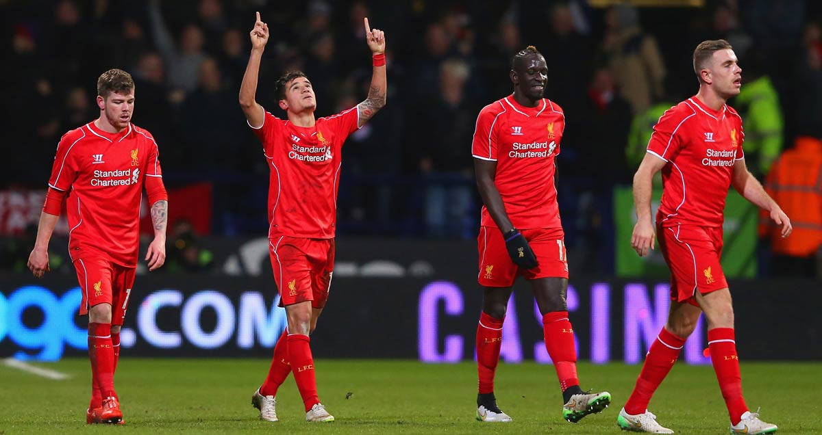 Philippe Coutinho thanks the heavens for his Liverpool winner v Bolton