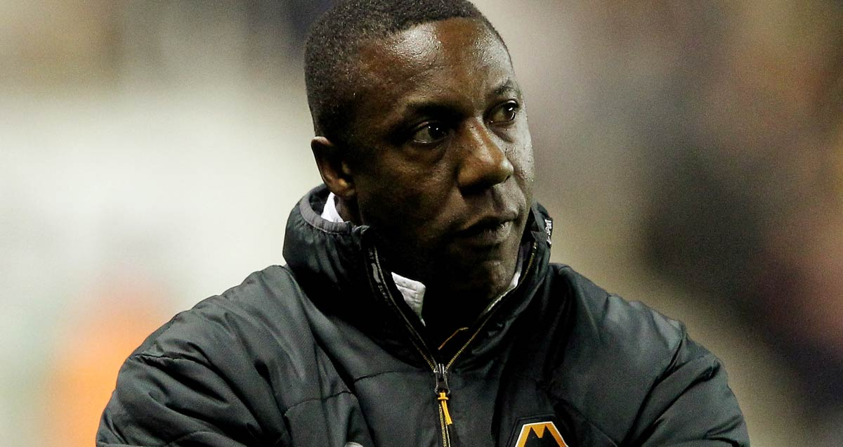 Terry Connor endured a torrid time following his promotion at Wolves