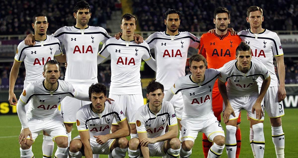 The Tottenham XI that started against Fiorentina