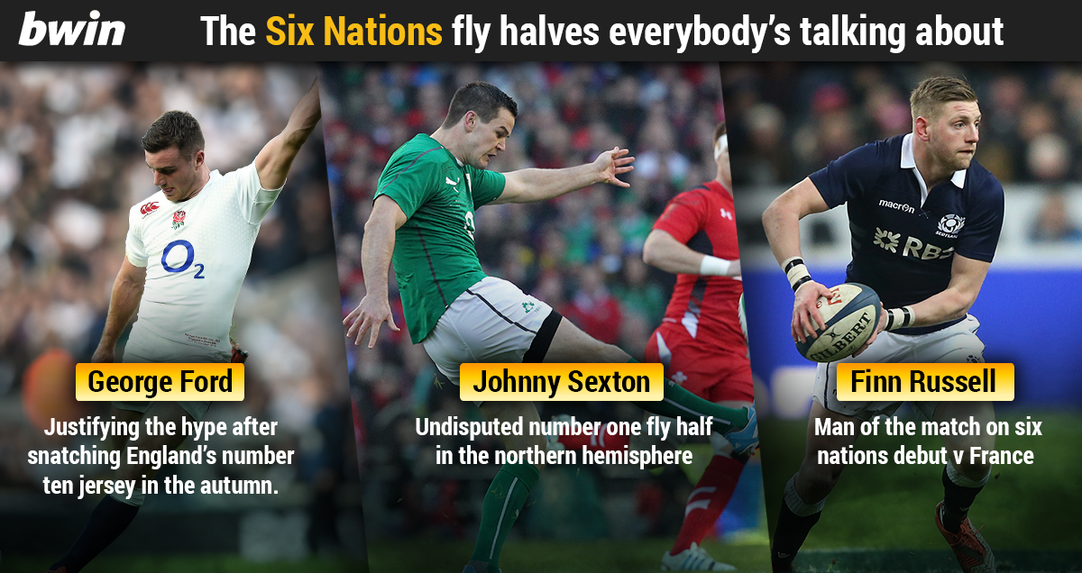 The fly halfs taking the six nations by storm