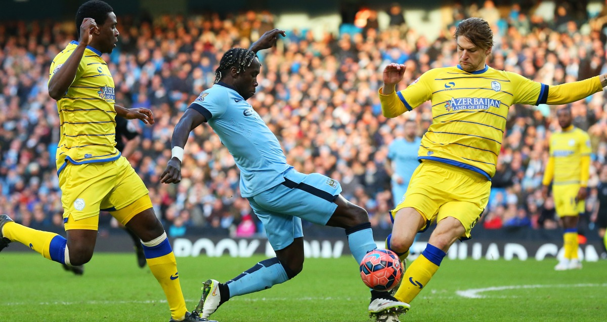 Bacary Sagna afforded a rare Man City start against Sheffield Wednesday