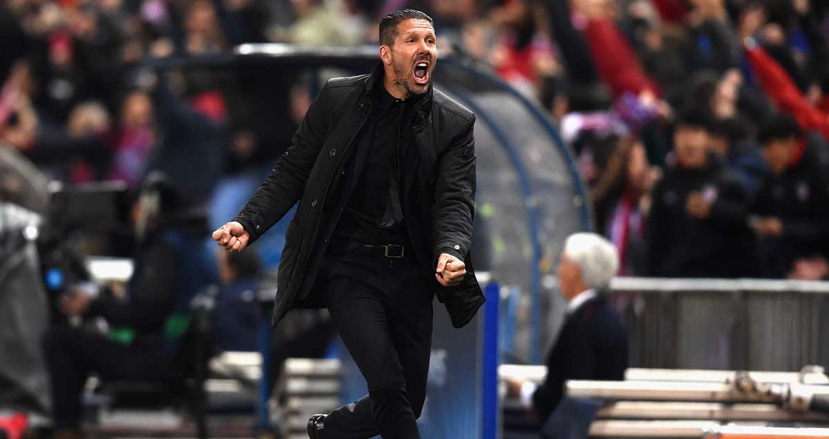 Master pragmatist Diego Simeone elated at another Atletico Madrid win
