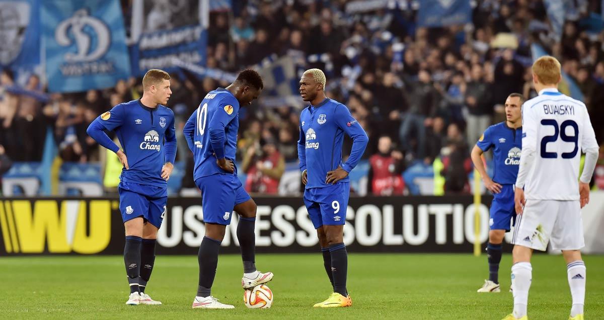 Everton restart after a concession against Dinamo Kiev