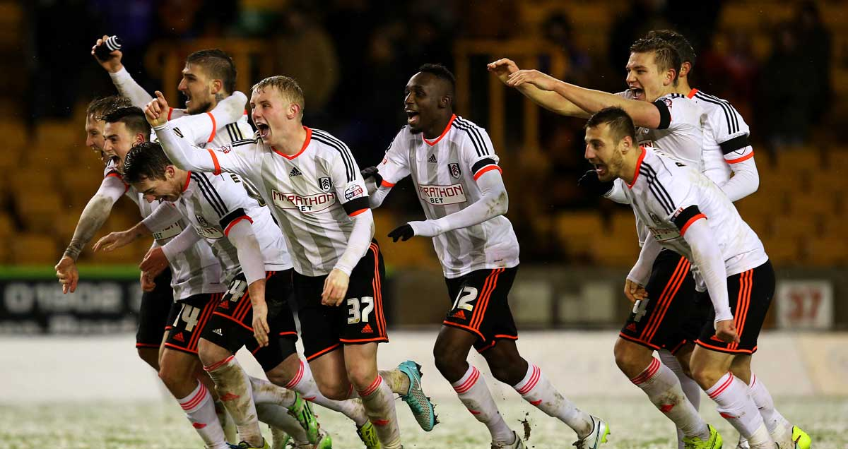 Fulham-celebrate-win-over-Wolves