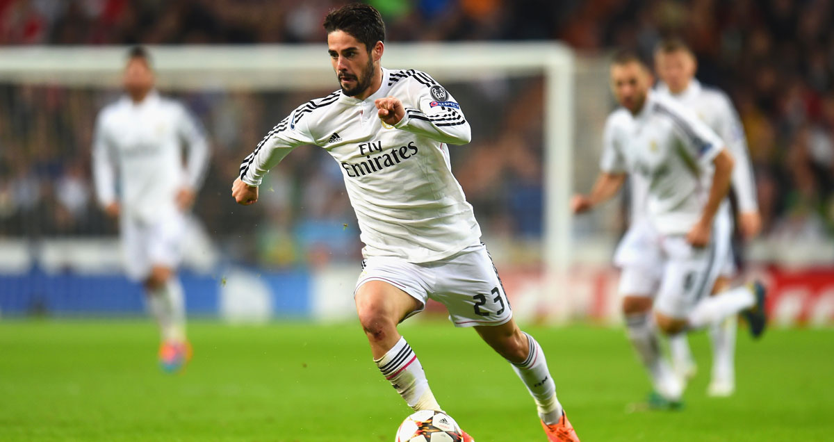 Isco has been a key part of Real Madrid's success this season