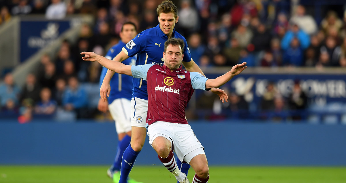 This is one of the few images of Joe Cole making it onto the pitch for Aston Villa