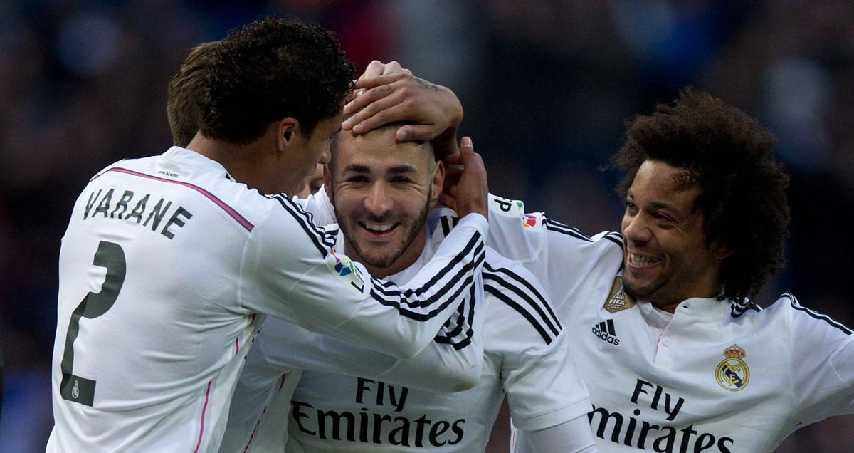 Karim Benzema broke the deadlock in Real Madrid's last away game