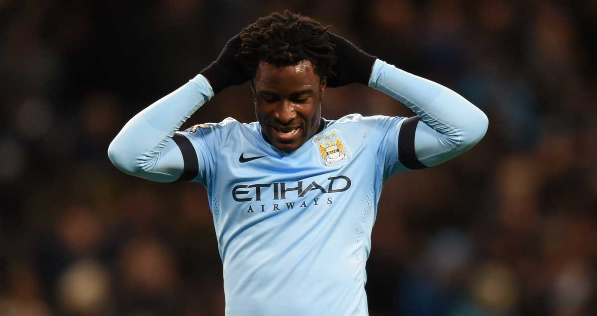 Wilfriend Bony has endured a slow start at Man City