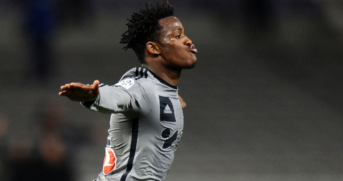 Michy Batshuayi scored twice in Marseille's 6-1 win at Toulouse