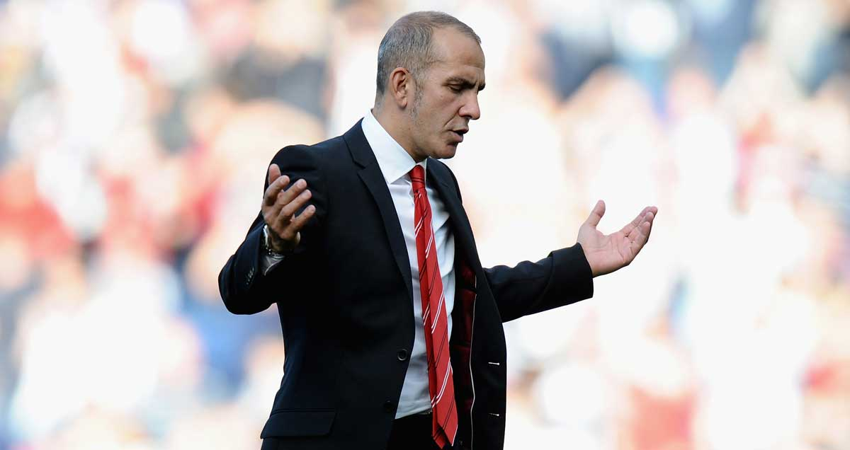 Paolo Di Canio bemoaning his Sunderland luck