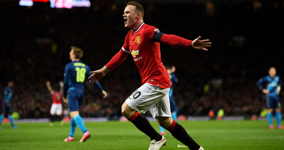 Wayne Rooney has scored three goals in his last three appearances
