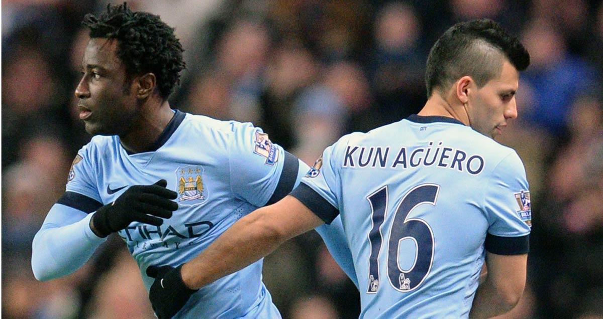 Wilfried Bony replaces Man City teammate Sergio Aguero