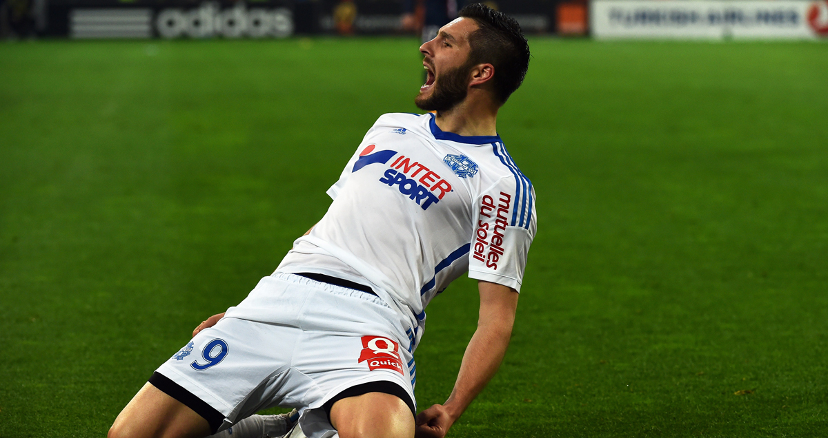 Andre-Pierre Gignac is the second highest scorer in Ligue 1 this season
