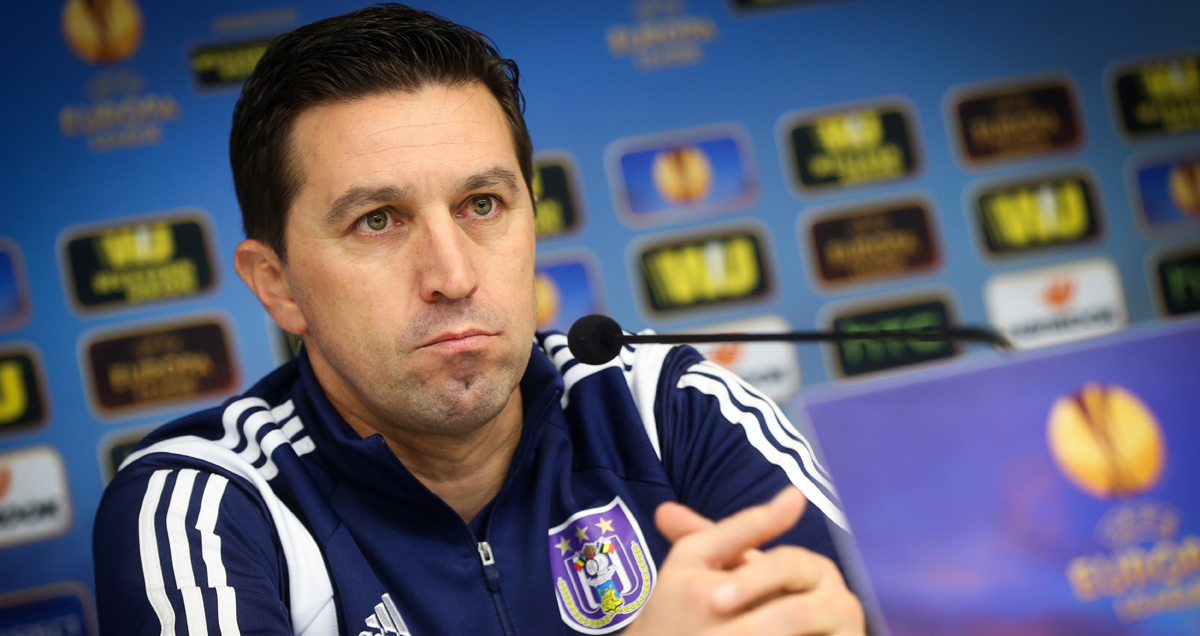 There has been nothing wrong with RSC Anderlecht's recent home form