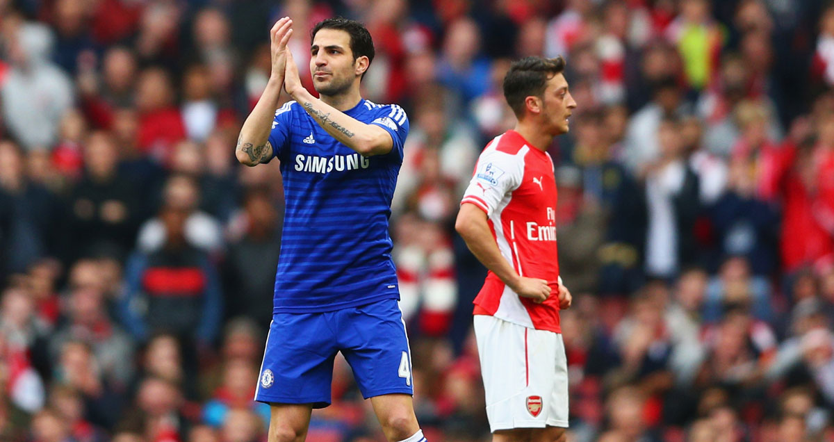 Cesc Fabregas pays tribute to the Arsenal fans who didn't boo him in Chelsea's goalless draw at the Emirates