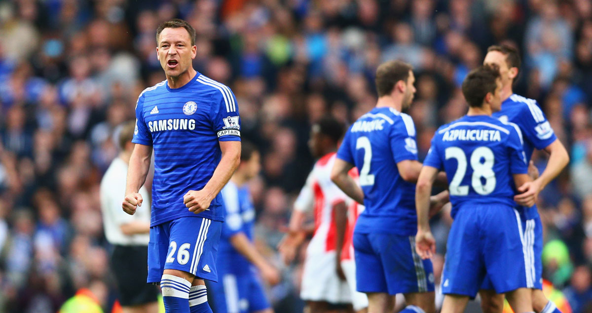 John Terry defied his old age to never miss a minute of the 2014/15 Premier League season