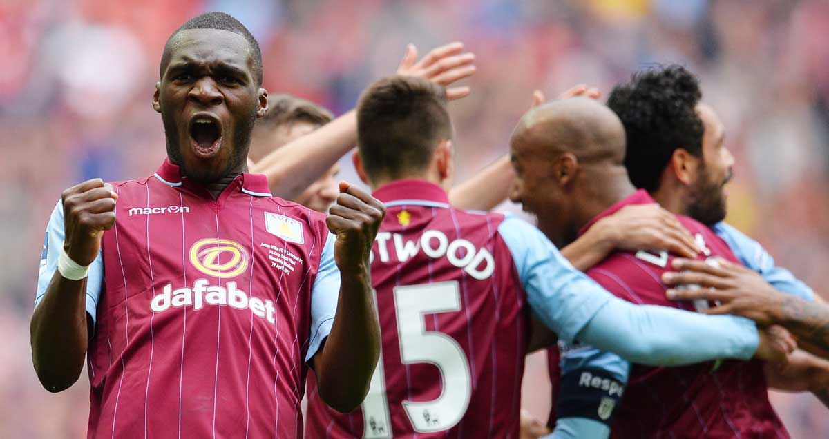 Christian Benteke relishes Aston Villa FA Cup semi final success