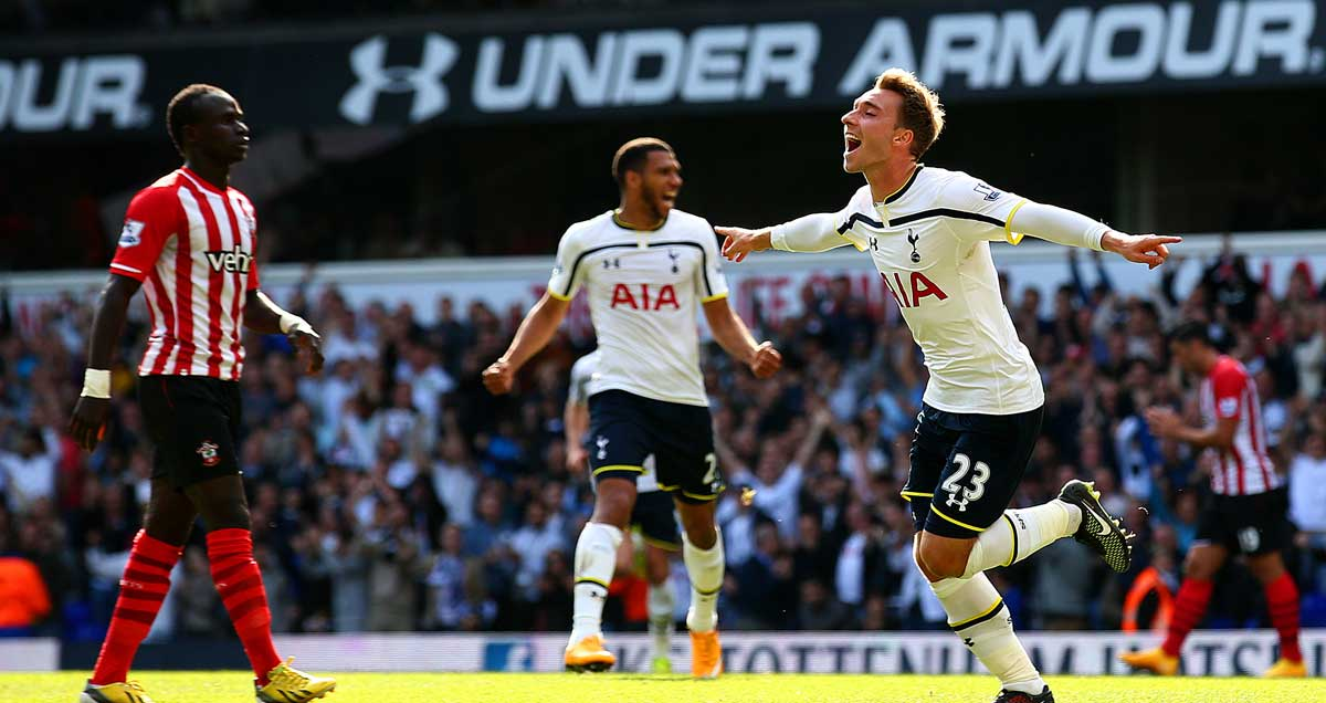 Christian-Eriksen-celebrates-the-winner-for-Tottenham-against-Southampton