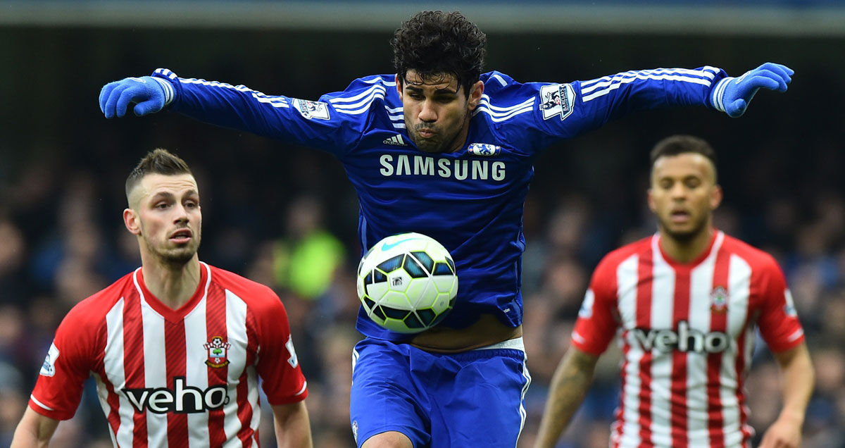 Diego Costa mad light of the switch from Spanish football