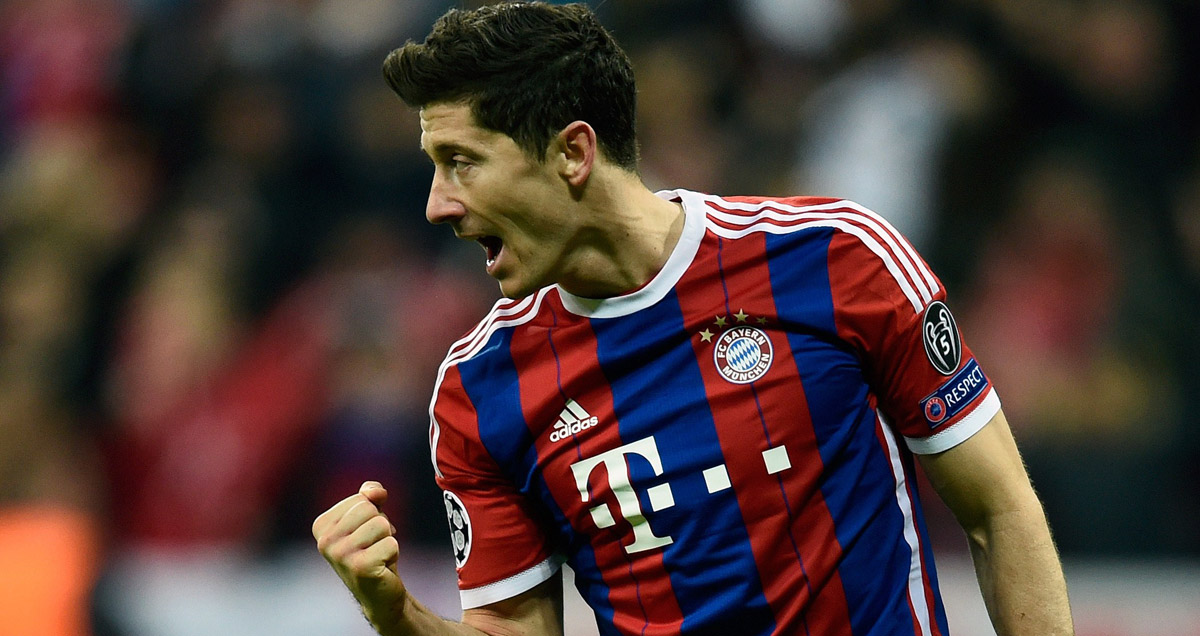 Robert Lewandowski will be reunited with former club Borussia Dortmund this weekend