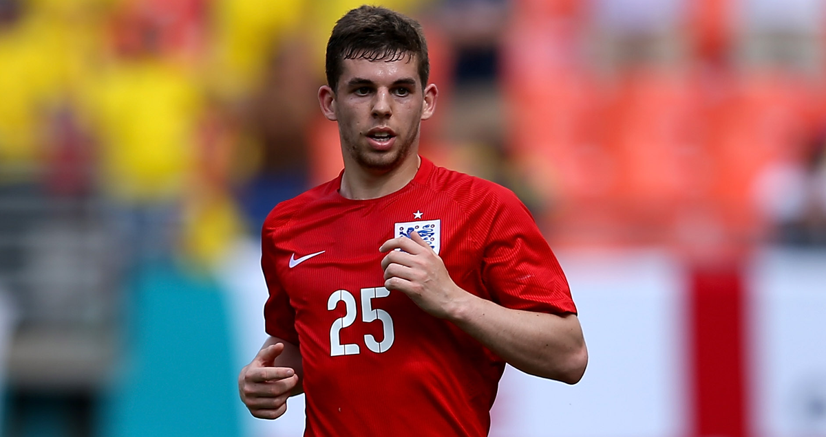 Liverpool's Jon Flanagan dons England colours