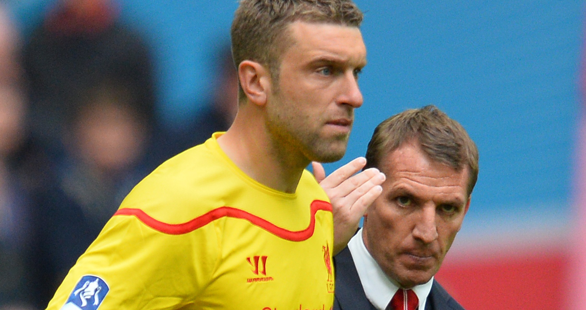 Liverpool-boss-Brendan-Rodgers-introduces-Rickie-Lambert-v-Aston-Villa