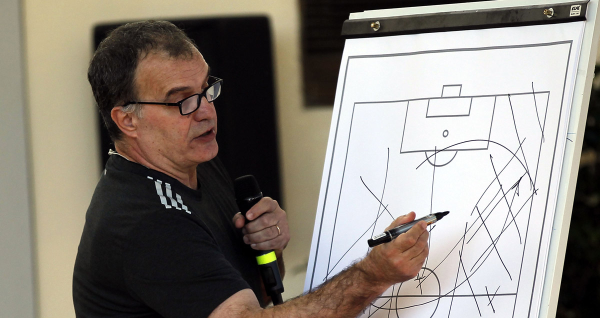 Marcelo Bielsa has been key to Marseille's Ligue 1 title challenge