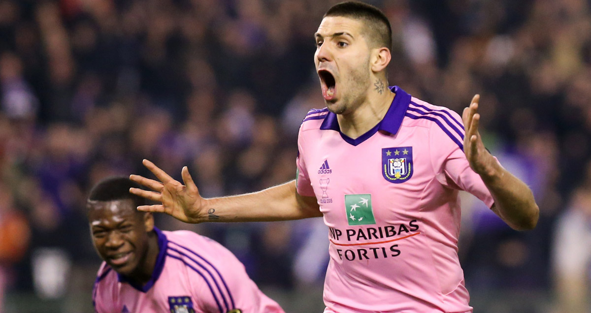 Aleksandar Mitrovic has been prolific for RSC Anderlecht in 2014/15