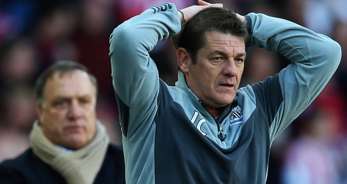 Newcastle manager John Carver can't believe what he's got himself in to