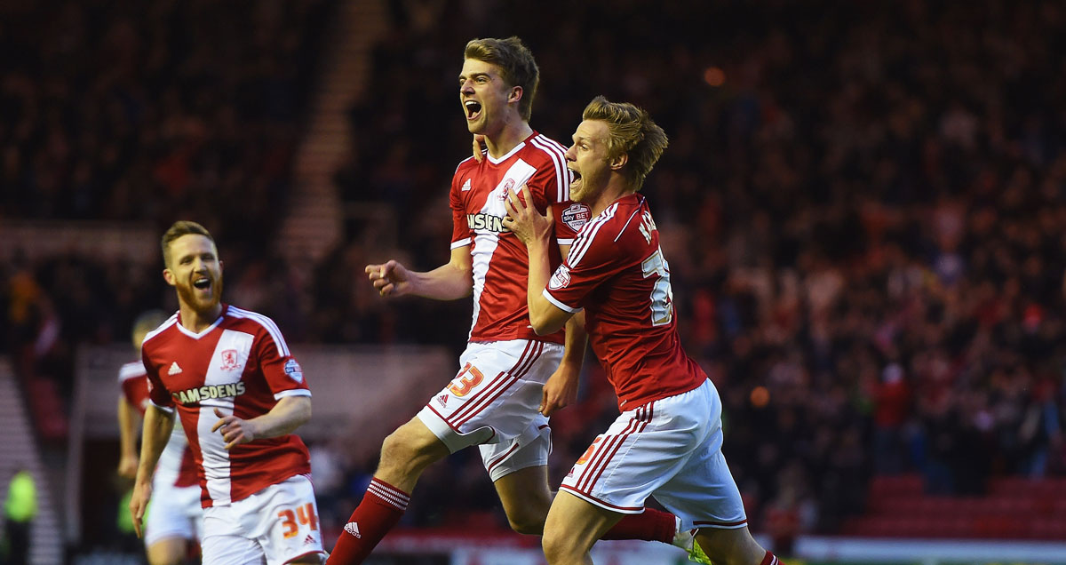 Patrick Bamford's goals have helped Middlesbrough to a play-off place
