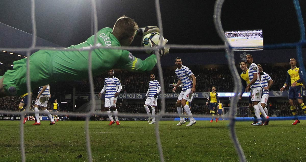Rob-Green-saves-for-QPR-v-Arsenal