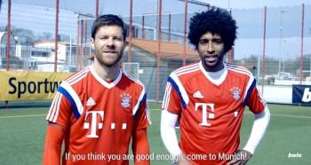Freekickerz go back to school with FC Bayern Munchen
