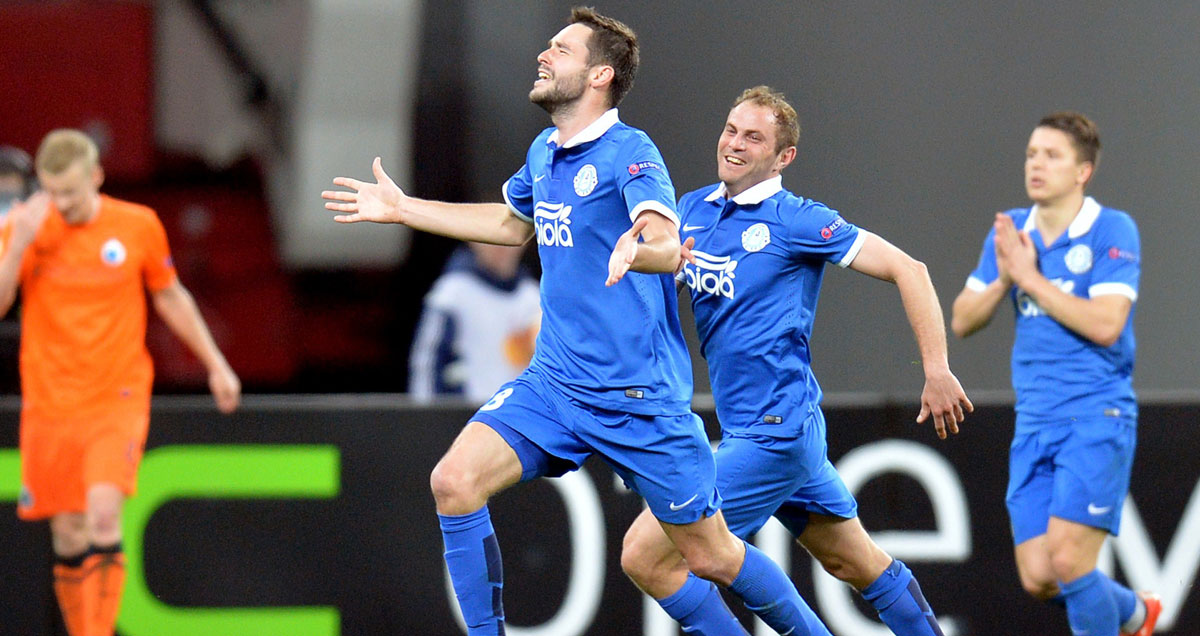 Dnipro have proved themselves steady travellers in the Europa League
