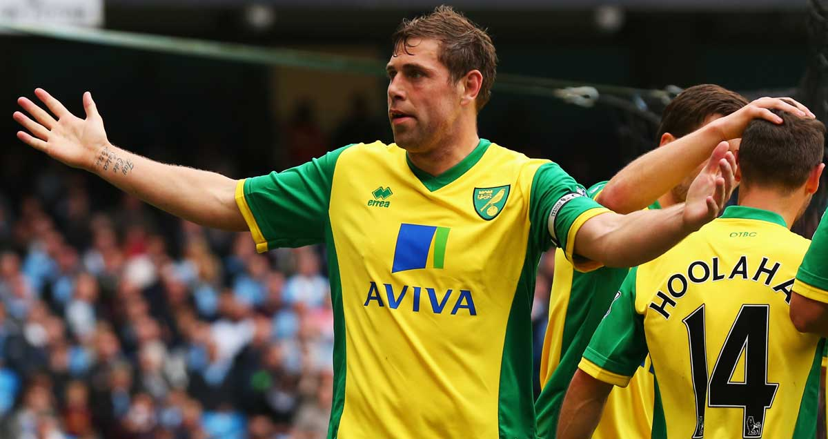 Grant Holt takes the adulation for Norwich