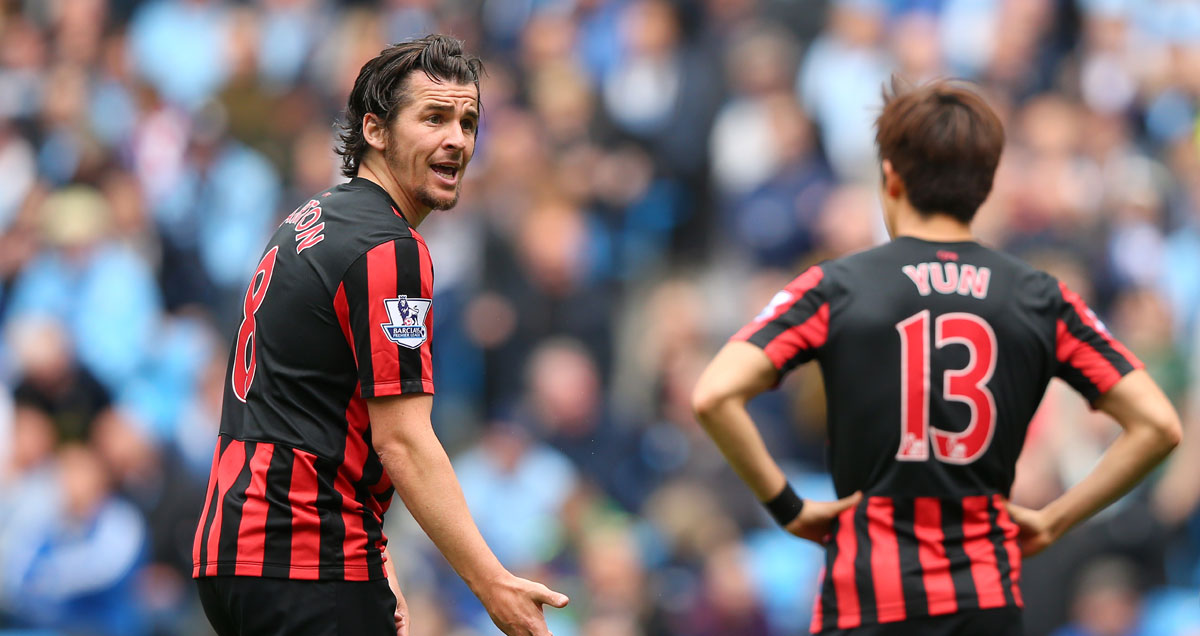 Joey Barton lamenting a QPR colleague in massacre at Man City