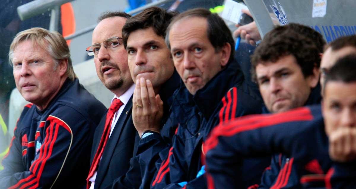 Rafael Benitez at Liverpool