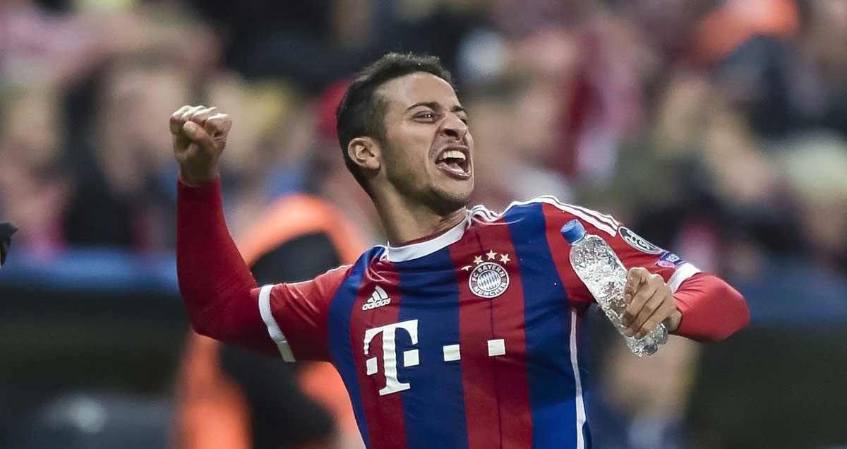 Thiago-Alcantara-of-Bayern-Munchen-celebrates
