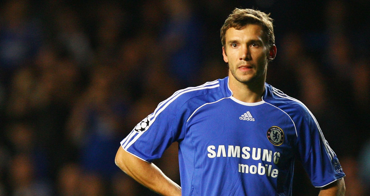 Andriy Shevchenko was largely ineffective during his time at Chelsea