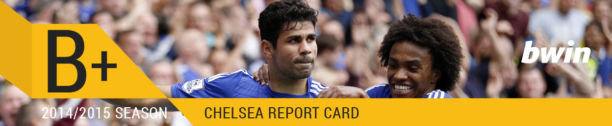 Chelsea Report Card B+ Graphic
