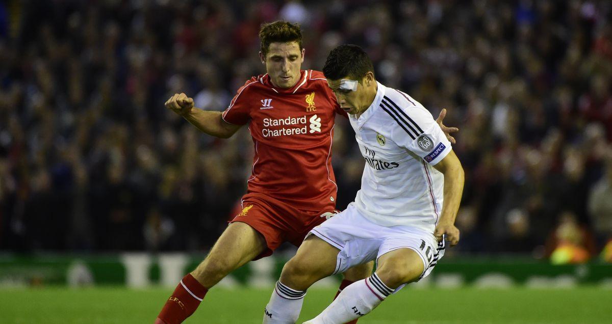 Joe Allen - Liverpool v Real Madrid