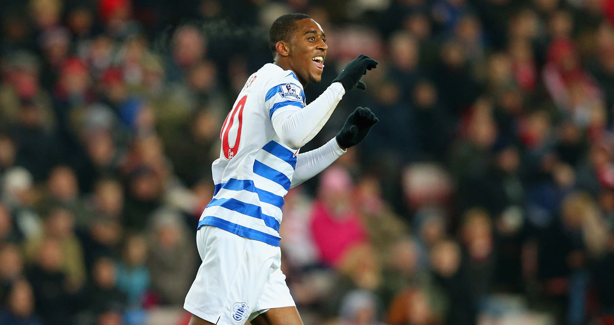 Leroy Fer wheels away in celebration