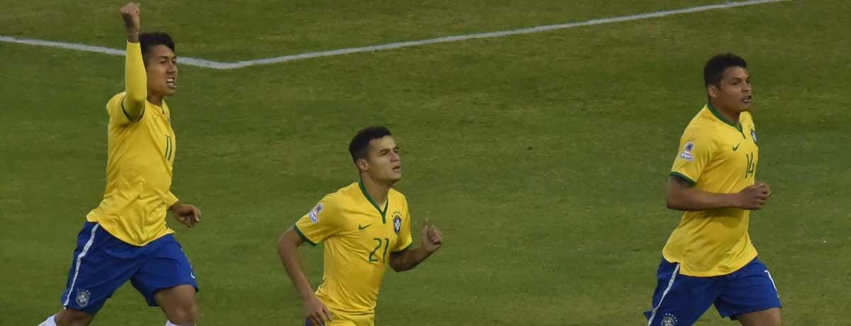 Copa America: Liverpool heavy Brazil should squeak into semis