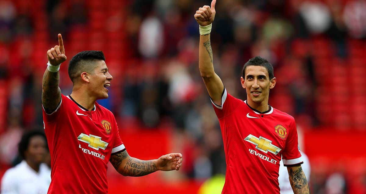 Man-Utd-Argetines-Marcos-Rojo-and-Angel-Di-Maria