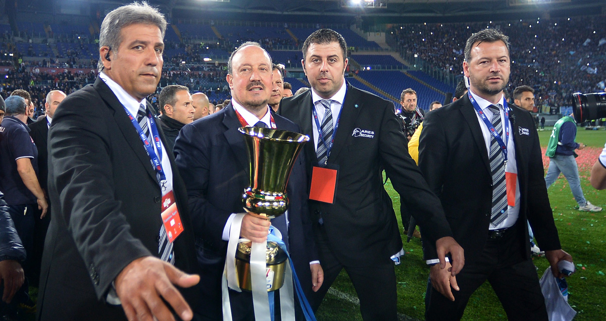 Rafael Benitez achieved something of substance in the first season of his last eight jobs