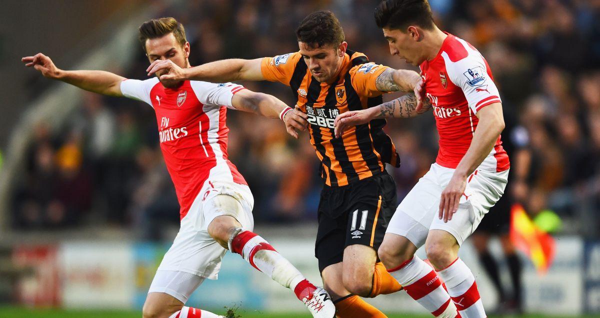 Robbie Brady Hull v Arsenal