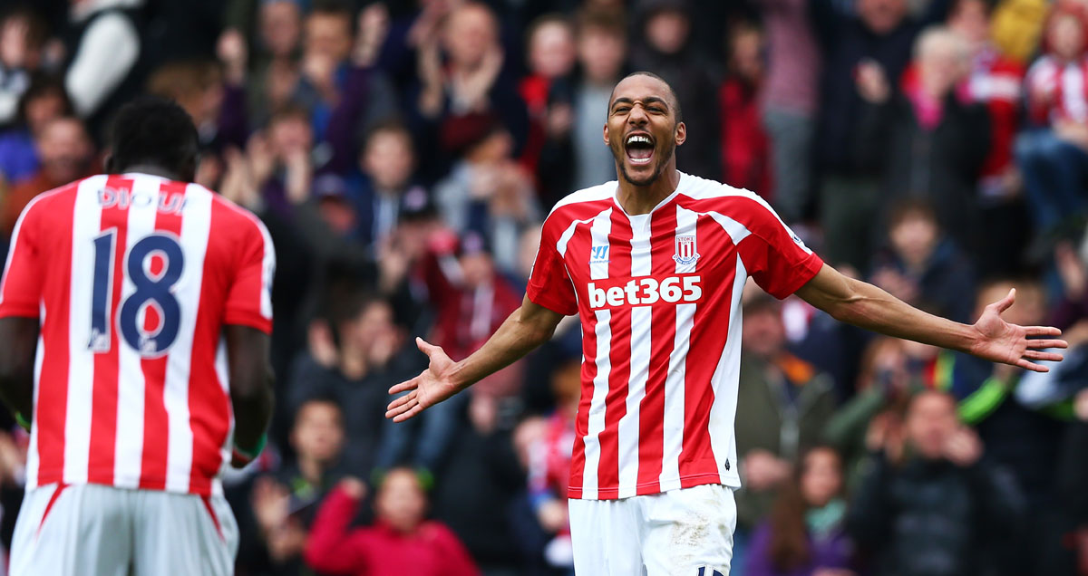 Steven N'Zonzi scores from range in Stoke's rout of Liverpool