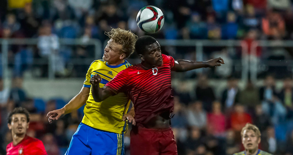 Sweden and Portugal crossed paths in the group stage en route to the Euro U21 final