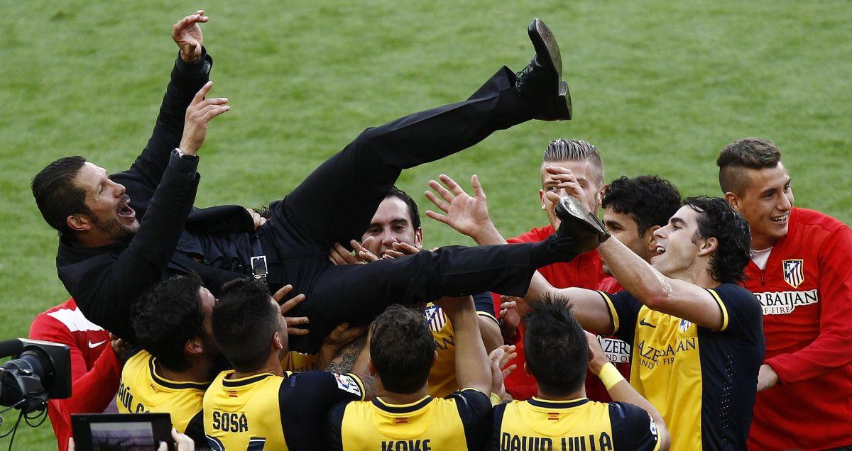 Atletico Madrid win the league