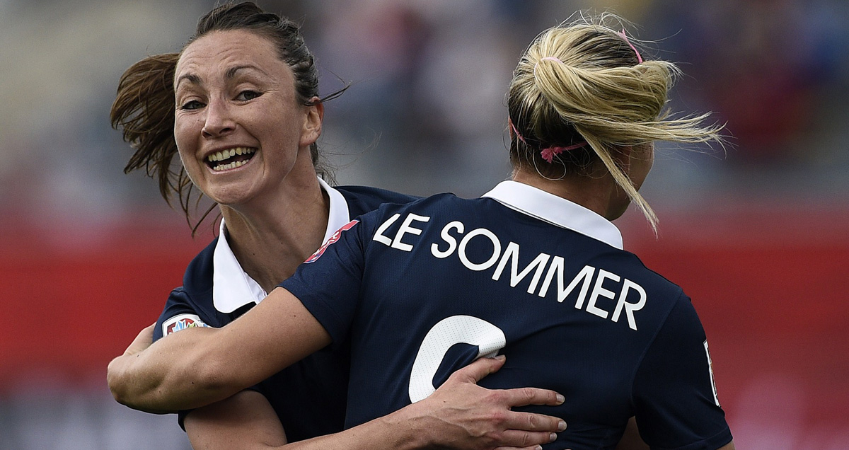 England were outperformed by France in the Women's World Cup group stage