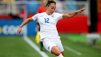 Lucy Bronze scored decisive goals for England against Norway and Canada